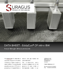 Datasheet EddyCus® CF inline Basis Weight Measurement